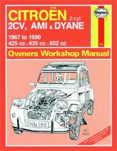 Haynes Reparationshandbok, Citroën 2CV, Ami & Dyane, Universal