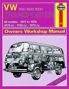 Haynes Reparationshandbok, VW Transporter 1700, 1800 & 2000
