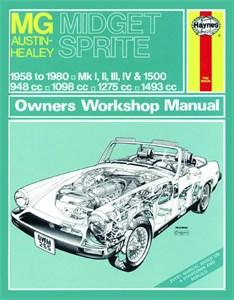 Bildel: Haynes Reparationshandbok, MG Midget & Austin-Healey Sprite