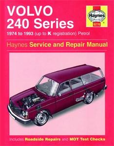 Haynes Reparationshandbok, Volvo 240 Series Petrol, Universal