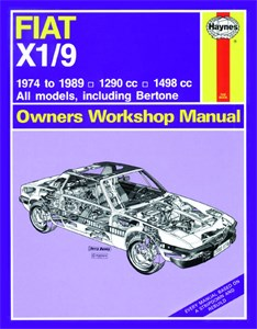 Haynes Reparationshandbok, Fiat X1/9, Universal