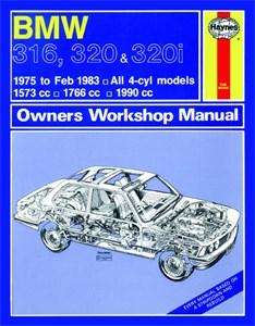 Haynes Reparationshandbok, BMW 316, 320 & 320i (4-cyl)