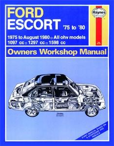 Haynes Reparationshandbok, Ford Escort