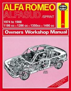 Bildel: Haynes Reparationshandbok, Alfa Romeo Alfasud/Sprint