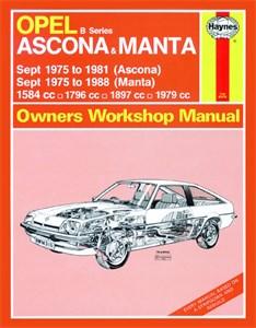 Haynes Reparationshandbok, Opel Ascona & Manta (B Series), Universal