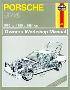 Haynes Reparationshandbok, Porsche 924 & 924 Turbo
