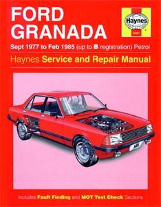 Haynes Reparationshandbok, Ford Granada Petrol, Universal