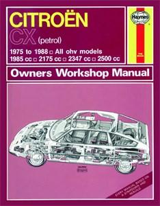 Haynes Reparationshandbok, Citroën CX Petrol