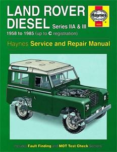 Haynes Reparationshandbok, Land Rover Series IIA, III Diesel