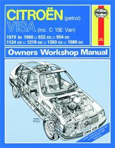 Haynes Reparationshandbok, Citroën Visa Petrol, Universal