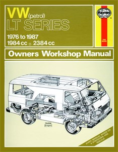 Haynes Reparationshandbok, VW LT Petrol Vans & Light Trucks