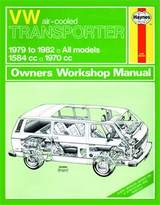 Haynes Reparationshandbok, VW Transporter air-cooled Petrol, VW Transporter (air-cooled) Petrol