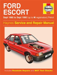 Haynes Reparationshandbok, Ford Escort Petrol