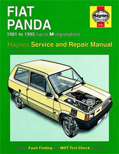 Haynes Reparationshandbok, Fiat Panda