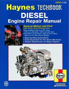 Haynes' reparasjonshåndbok for dieselmotorer, GM and Ford Diesel Engine Repair Manual