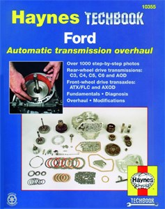 Haynes Reparationshandbok, Ford Automatic Transmission, Ford Automatic Transmission Overhaul Manual