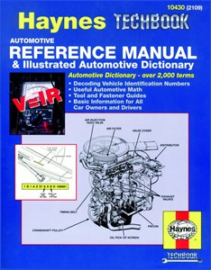 Automotive Manual & Illustrated Dictionary, Automotive Reference Manual & Illustrated Automotive Dictionary
