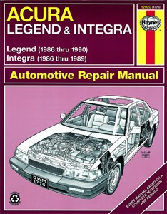 Haynes Reparationshandbok, Acura Integra & Legend