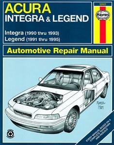 Haynes Reparationshandbok, Acura Integra & Legend, Universal