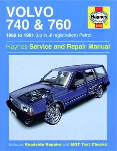 Haynes Reparationshandbok, Volvo 740 & 760 Petrol, Universal