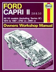 Haynes Reparationshandbok, Ford Capri II (& III) 2.8, 3.0 V6, Ford Capri II (& III) 2.8 & 3.0 V6