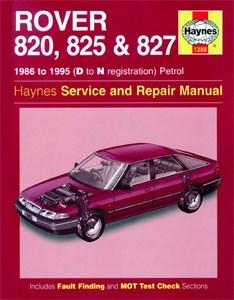 Haynes Reparationshandbok, Rover 820, 825 & 827 Petrol