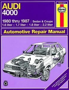 Bildel: Haynes Reparationshandbok, Audi 4000