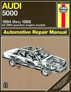 Bildel: Haynes Reparationshandbok, Audi 5000