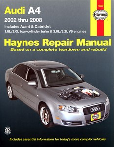 Haynes Reparationshandbok, Audi A4
