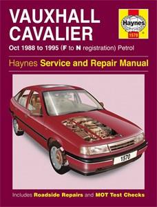 Haynes Reparationshandbok, Vauxhall Cavalier Petrol