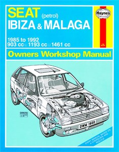 Haynes Reparationshandbok, Seat Ibiza & Malaga Petrol