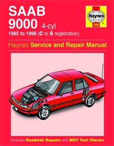 Haynes Reparationshandbok, Saab 9000 (4-cyl)