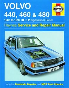Haynes Reparationshandbok, Volvo 440, 460 & 480 Petrol