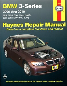 Haynes Reparationshandbok, Engelska, NEW TITLE BMW 3-Series