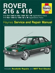 Haynes Reparationshandbok, Rover 216 & 416 Petrol