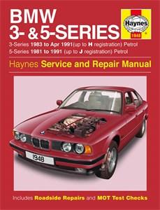 Haynes Reparationshandbok, BMW 3- & 5-Series Petrol