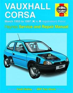 Haynes Reparationshandbok, Vauxhall Corsa Petrol, Universal