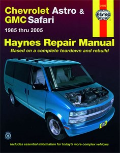 Haynes Reparationshandbok, Chevrolet Astro & GMC Safari, Chevrolet Astro & GMC Safari Mini-vans