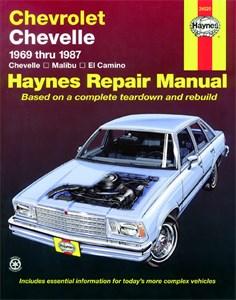 Haynes Reparationshandbok, Chevrolet Chevelle