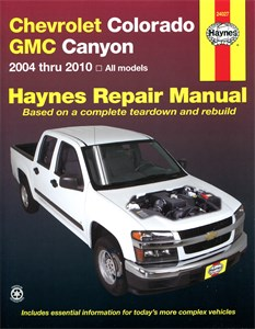 Haynes Reparationshandbok, Chevrolet Colorado & GMC Canyon, Universal