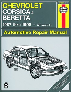 Haynes Reparationshandbok, Chevrolet Corsica & Beretta
