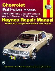 Haynes Reparationshandbok, Chevrolet Full-size Sedans, Universal