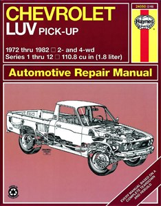 Haynes Reparationshandbok, Chevrolet Luv Pick-up, Universal