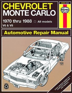 Haynes Reparationshandbok, Chevrolet Monte Carlo, Universal