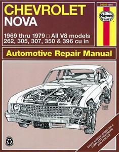 Bildel: Haynes Reparationshandbok, Chevrolet Nova