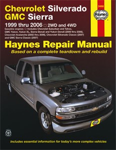 Haynes Reparationshandbok, Chevrolet Silverado Pick-up