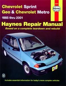 Haynes Reparationshandbok, Chevrolet Sprint & Geo Metro