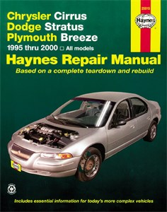 Bildel: Haynes Reparationshandbok, Chrysler Cirrus, Stratus, Breeze, Chrysler Cirrus/Dodge Stratus/Ply. Breeze