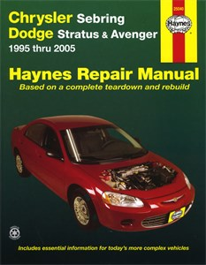 Haynes Reparationshandbok, Chrysler Sebring & Dodge, Universal