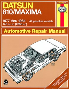 Haynes Reparationshandbok, Datsun 810/Maxima